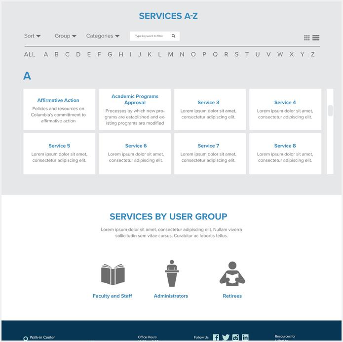 Services Feature